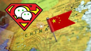 Wechat china-superhero