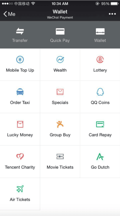wechat pay in india